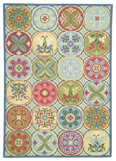 Company C Wool Rug Stepping Stones eclectic-kids-rugs