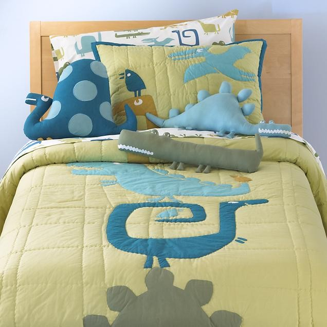 Kids Dinosaur Bedding Comforter Set