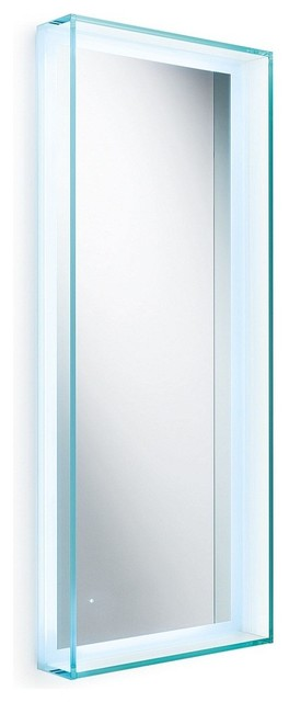 """Speci 5681 Framed Mirror with LED Lighting 27.6"""" x 39.4"""" contemporary-bathroom-mirrors"""