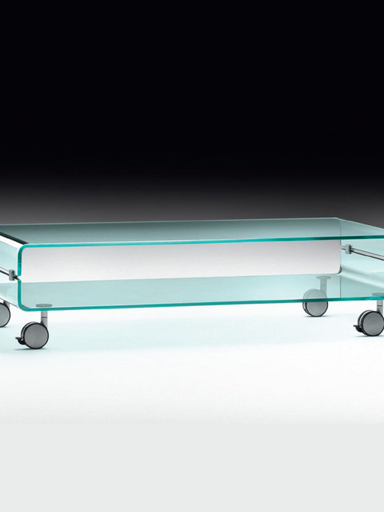 C&C Coffee Table - C&C Contemporary Glass Coffee Table by Christophe Pillet