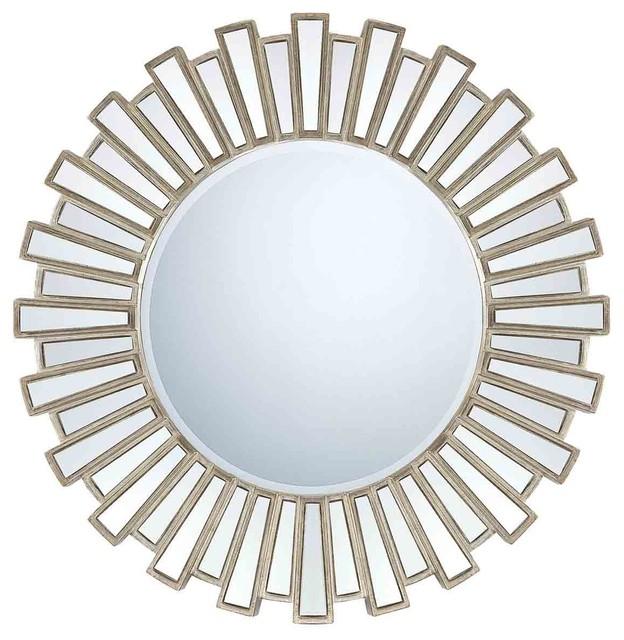 Quoizel QR983 Gwyneth Aged Silver Mirror midcentury-wall-mirrors