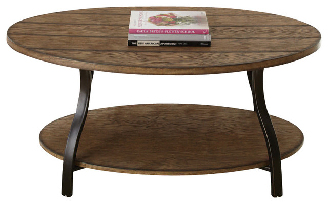 Steve Silver Denise 3 Piece 47x31 Oval Occasional Table Set contemporary-coffee-tables