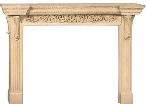 Marietta Large Fireplace Mantel traditional-fireplace-mantels