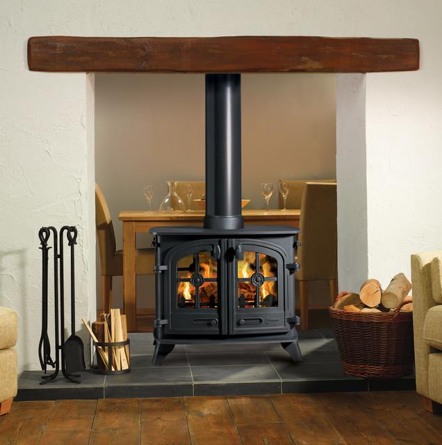 Yeoman Exe Double Sided Wood Burning Stove