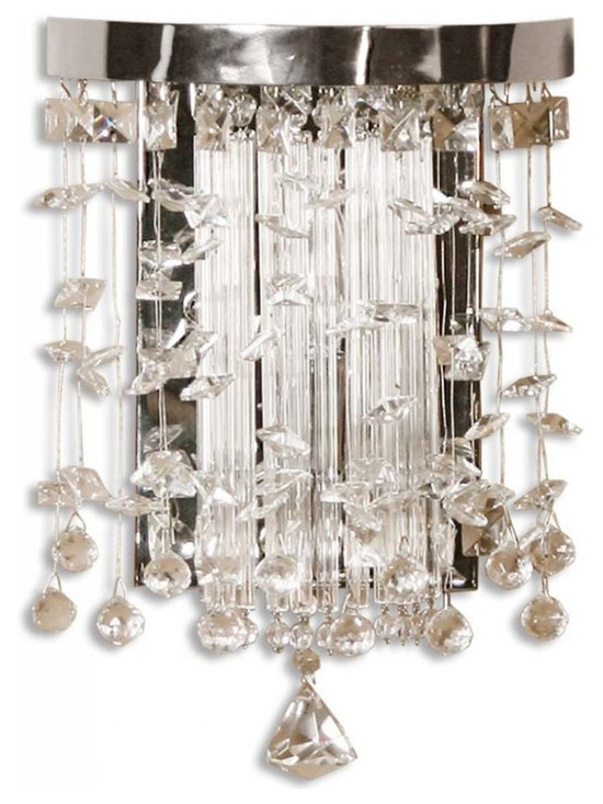 www.essentialsinside.com: fascination 1 light wall sconce - Fascination, 1 Light Wall Sconce by Uttermost, available at www.essentialsinside.com