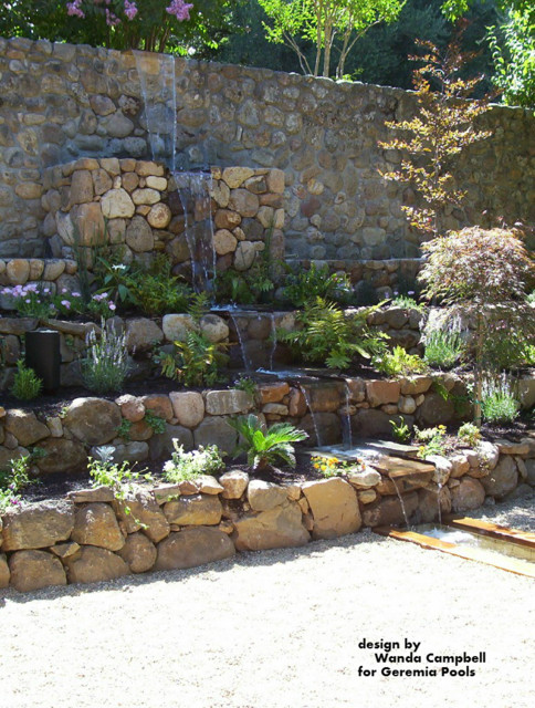 Water Features traditional-landscape