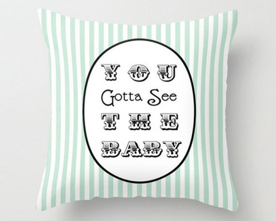 You Gotta See the Baby 'Seinfeld' Pillow by Penny & Paper -
