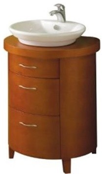 Round Vessel Sink Vanity : ... Storage Furniture / Bathroom Storage & Vanities / Bathroom Vanities