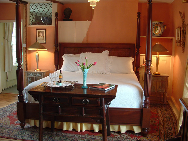 Centuries:  A 12th Century Bed & Breakfast in Kent, England traditional bedroom