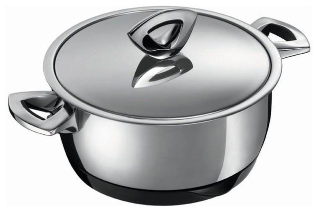 Kuhn Rikon Durotherm Swiss Thermal Cookware Casserole, 1 qt ...