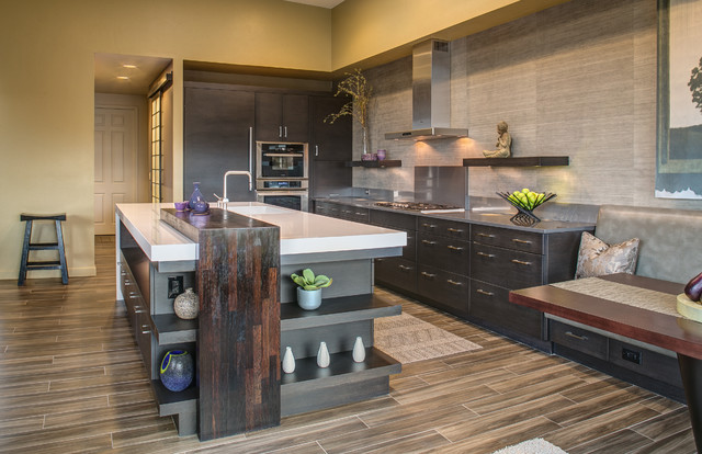 Zen Inspired Kitchen Modern Kitchen Phoenix By Dorado Designs