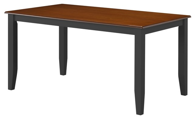Boraam Bloomington Dining Table in BlackCherry  : transitional dining tables from www.houzz.com size 640 x 392 jpeg 19kB