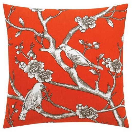 Dwellstudio Vintage Blossom Pillow modern-decorative-pillows