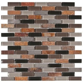 12 in x 11 3 4 in glass contemporary tile by home depot