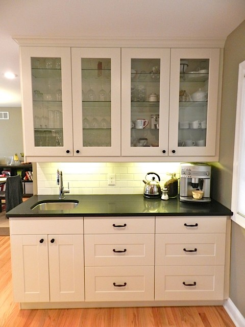 Ikea adel white in princeton nj traditional new york for Adel kitchen cabinets