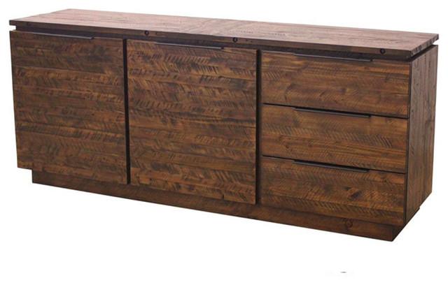 New york reclaimed pine sideboard