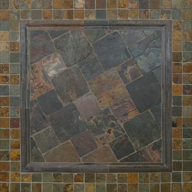 California Gold Slate : California gold and multi classic slate tile other