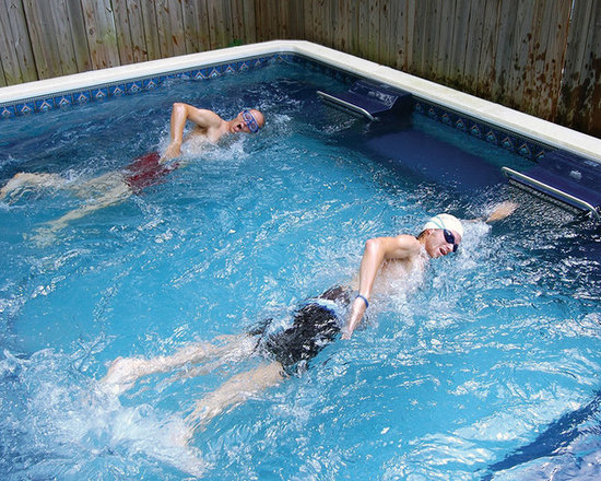 Dual Propulsion Endless Pool® - Endless Pools for two - the Dual Propulsion model allows a pair of swimmers to exercise simultaneously, each against their own independently adjustable current.