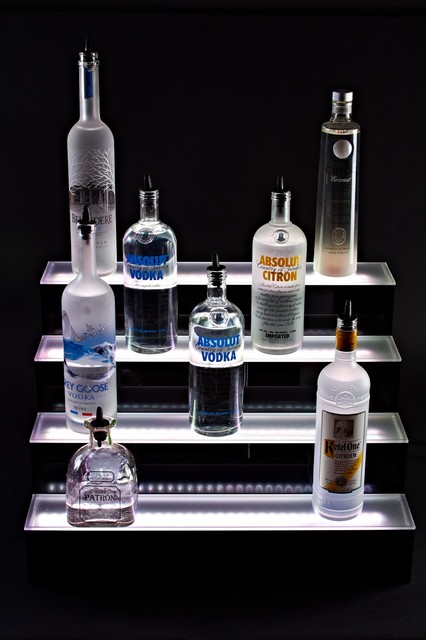 Led Bottle Glorifier Eclectic Bar Stools And Counter Stools Other Metro By Liquor