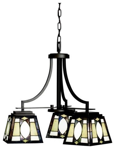 Kichler Denman 66121 Chandelier - 22 in. - Olde Bronze traditional-chandeliers