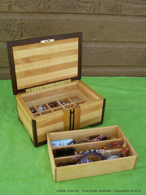 Custom jewelry box jewelry-boxes-and-organizers