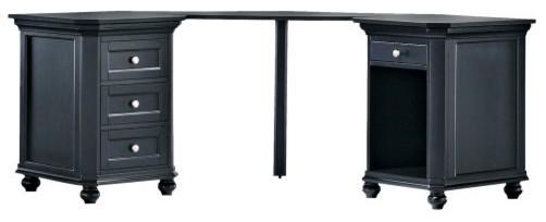 Ventura Small Corner Desk Contemporary Desks And