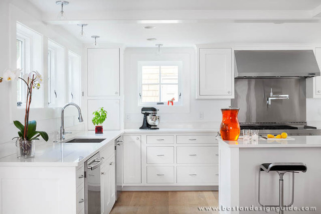JW Construction, Inc. | High End Custom Home Builder in Cambridge, MA contemporary-kitchen
