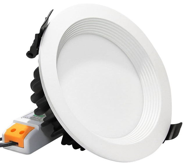 12Watt 4-Inch Dimmable LED Recessed Ceiling Light, Daylight - Modern ...