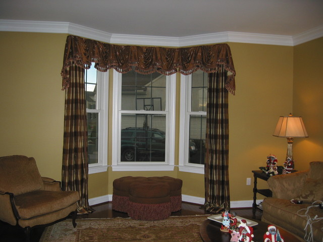 Material Girl traditional-curtains