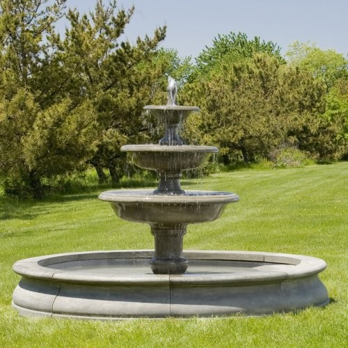 fountain traditional outdoor fountains and ponds by hayneedle