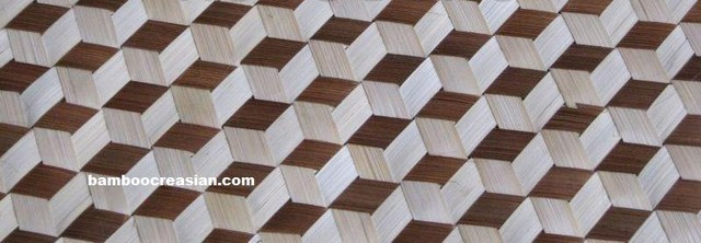 Bamboo matting wall ceiling covering decor wallpaper