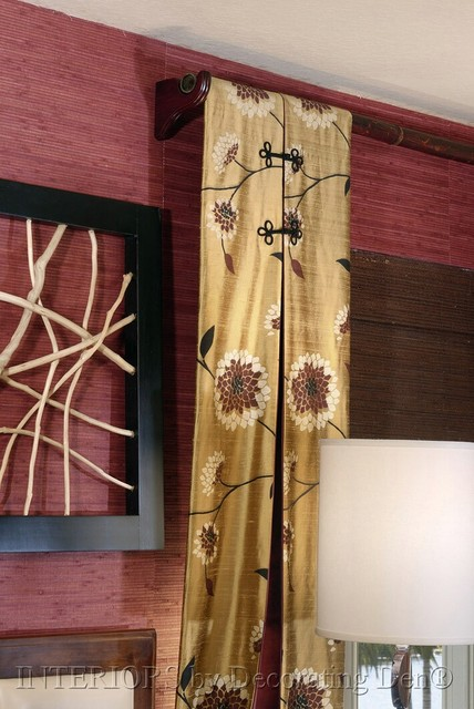 Custom window treatments asian