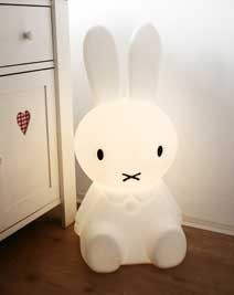 Miffy Floor Lamp - eclectic - kids lighting - by de winkel van nijntje