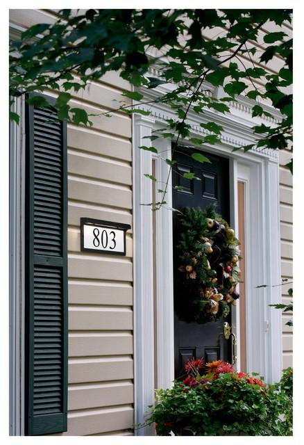 Address Light Fixture outdoor-lighting