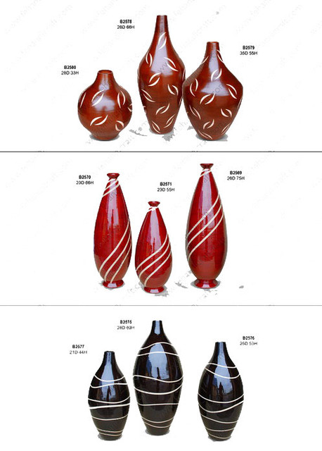 bamboo vases asian-vases