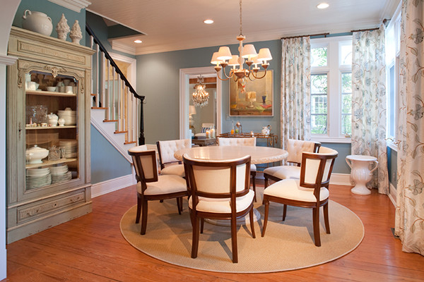 Sandra John Interiors contemporary-dining-room