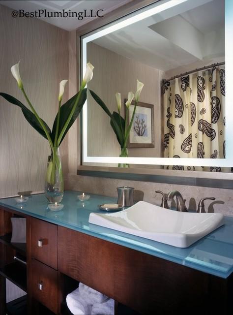 Electric Mirror Showroom modern-bath-products