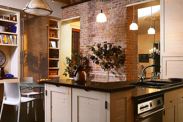Town House Kitchen eclectic-kitchen