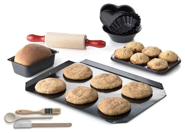 kid 39 s baking set eclectic bakeware sets by king. Black Bedroom Furniture Sets. Home Design Ideas