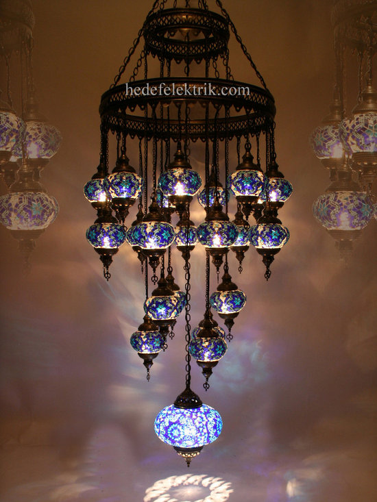 Turkish Style - Mosaic Lighting - Code: HD-04161_15