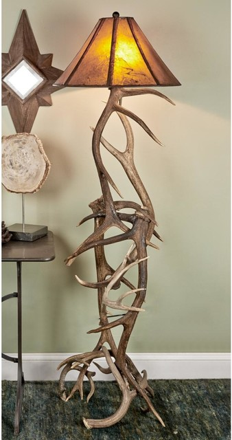 deer and elk antler floor lamp lamp shades by shades of light