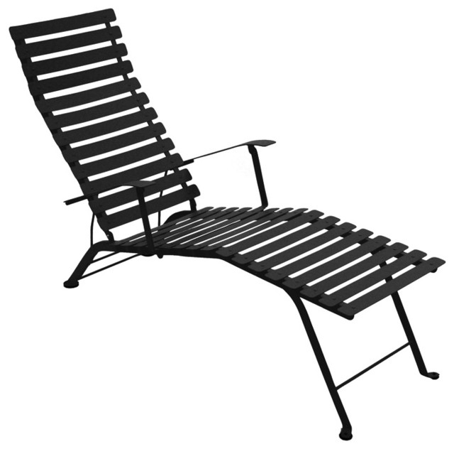 Bistro Chaise Lounge modern-outdoor-chaise-lounges