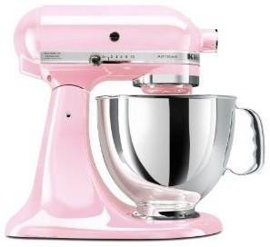 Kitchenaid Komen Foundation Artisan Series 5-Quart Mixer, Pink contemporary-mixers