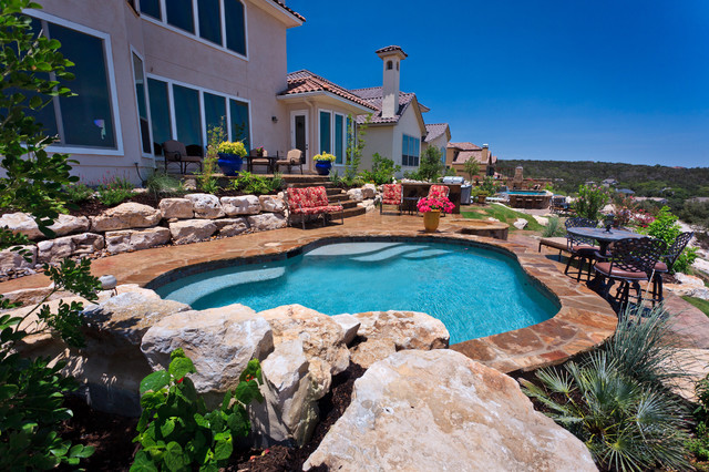 Land Design Tx pool