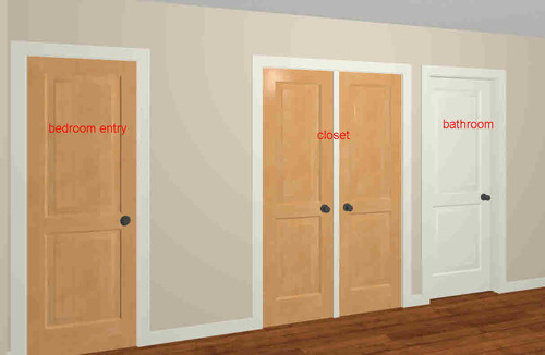 closet doors in swing out swing or bifold