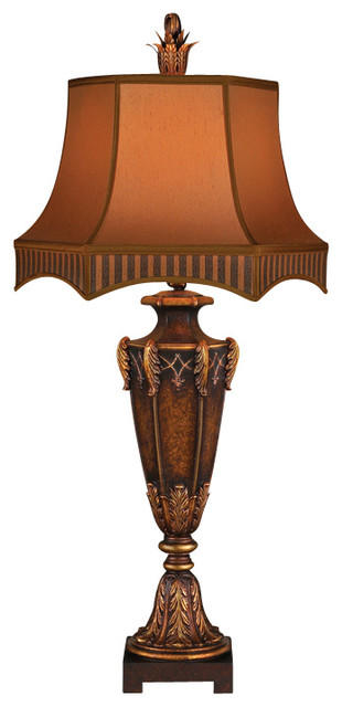 Fine Art Lamps 305410ST Brighton Pavillion Bronzed Sienna Table Lamp traditional-table-lamps