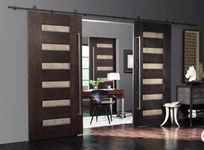 Interior Contemporary Barn Style Doors - Contemporary ...