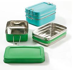 2-Tier Rectangular Tiffin Box | Kitchen & Dining | World Market