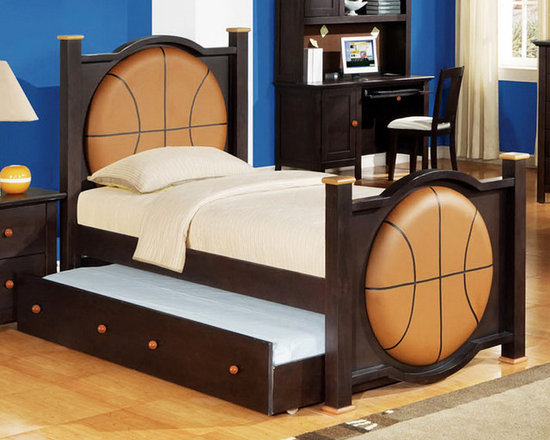 Basketball Storage Bed -