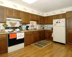 Kitchen Before Island traditional
